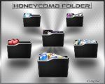 Black Folder Honeycomb by ilnanny