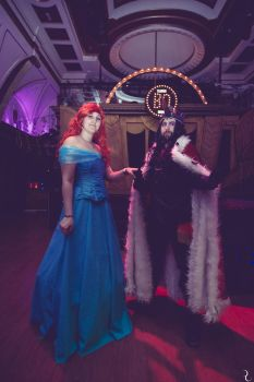 Cosplay Ball Spain - Ariel and King Sombra by Yo-Cosplay