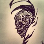 HellSpawn Head by lezerapron