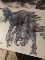 Creature Design 1 More Shading by ATouchOfConcept