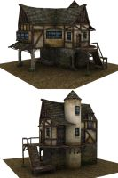 Medieval house by ricolas71