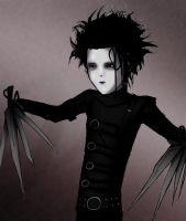 edward scissorhands by nastynoser