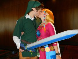 Zelda and Link - CTcon 2013 by jennasthings