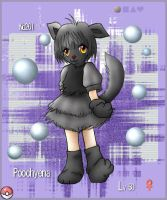 PKMN 261 - Poochyena by tesumii