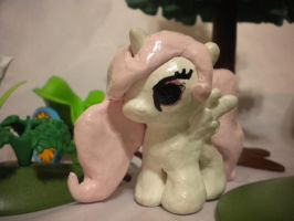 Little Tia: A Handmade MLP Sculpture by InkRose98