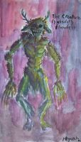 The Creature Is Absolutely . . by Godcharon