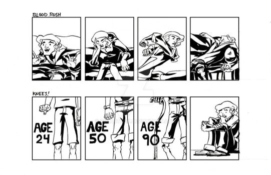 'Tall' Comic Strips 3 and 4 by Polartech