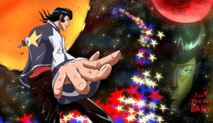 Space Dandy Dandy Surfing Stars by Mr123GOKU123