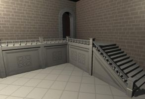 Sworn - Hall Staircase by EvandroLoss