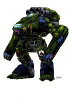 M.A.C. Mini-Monster by kevarin