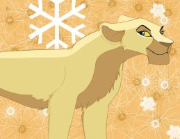 Christmas Lioness by dyb