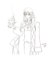 Howl and Calcifer request by feerl