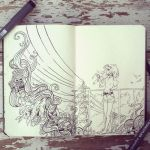 #36 Hottest day ever by 365-DaysOfDoodles