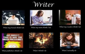 Writer Meme by NothingYouCouldLove