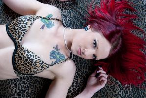 Leopard on fire by xxxBlitzkriegxxx