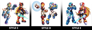 Rendering Styles II by ultimatemaverickx