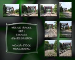 Bridge tracks1 wicasa-stock by Wicasa-stock