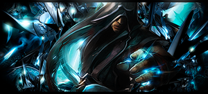 Lee Sin League of Legends Signature by ViciousBlue