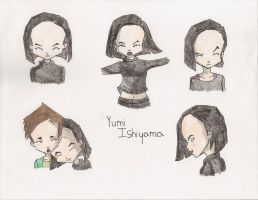 Yumi Drawings by SubjectGamma96