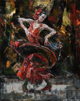 Flamenco II by raysheaf