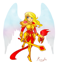Kayle Chibi by D-Dragons