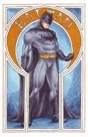 Comic Nouveau Project: Batman by silvertales