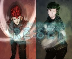 Re:Set ep 3 : Battle Images of Party Members 3 by azureXtwilight-rllz