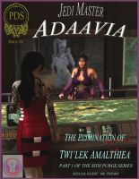 Adaavia comic cover by PDSmith by LoneStranger