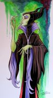 Maleficent by KidNotorious
