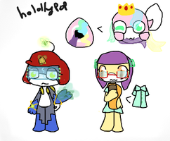 Custom adopts for Holly-chan plus surprise! by NaturisticLeafy