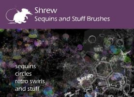 Shrew Sequins and stuff by ArtyShrew