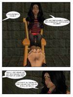 Michal And Her Big Ticklish Feet (1) p2 by sahrkastik
