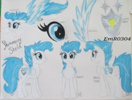 OC Shimmering Sheild Reference by EmR0304