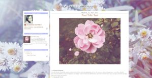 Cold Spring Morning ~ Free Blogger Template by MsCassyK-Stocks
