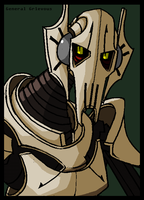 IVZ Style Grievous -colored- by PurpleRAGE9205