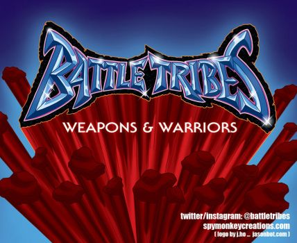 BATTLE TRIBES at Designer Con 2016 and beyond by jasonhohoho