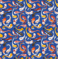 Koi Fish Pattern by KaelanDM