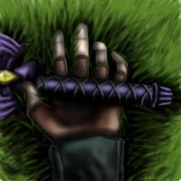 Hand of the Fallen Hero by ecstaticOblivion