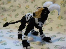 Pipe Cleaner Houndoom by DarkSaberCat