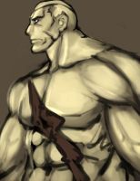 Street Fighter II - Sagat by buuzen