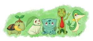 Grass Starters by abbic314