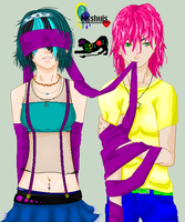 Collab- Kisshuislove- Bonded by random-person101