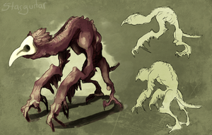 Monster Monday- Plague Creature by 5targuitar