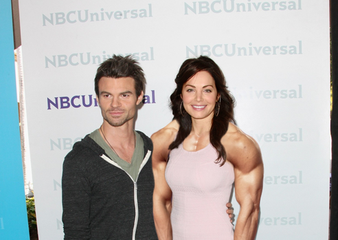 Muscular Erica Durance by MyNameIsNotRelevant