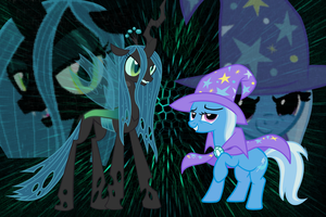Trixie + Chrysalis - ~Take Over The World~ by Cparty232