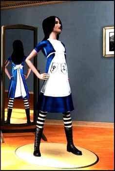 Sims 3 Alice by jagged66