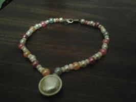 my little pony princess celestia inspired necklace by monkee426