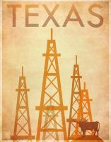 Texas Poster by surlana
