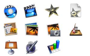 iLife '08 Icons by CreativePixel