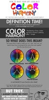 HOW TO MAKE YOUR ART LOOK NICE: Color Harmony by trotroy